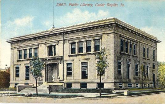 Cedar Rapids Carnegie Library