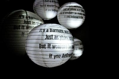 1Q84 paper lanterns